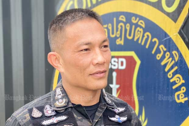 Special Operations Police commander Pol Maj Gen Phumin Phumpanmuang
