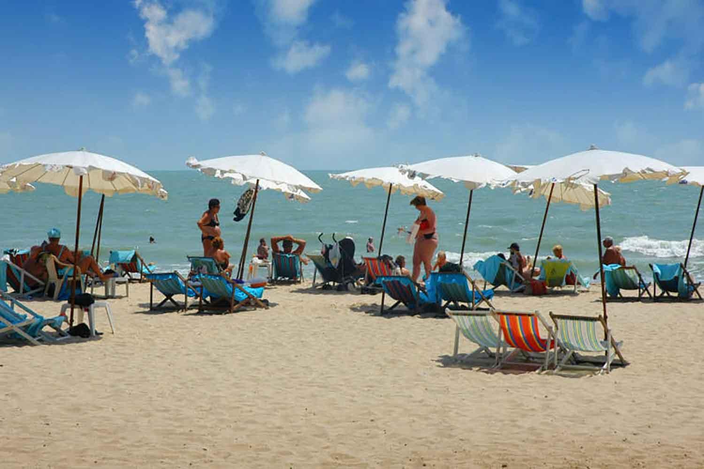 Hua Hin beach in 2018. (Photo: Chaiwat Sadyaem)