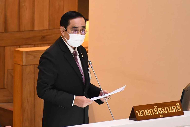 Prime Minister Prayut Chan-o-cha (parliament photo)