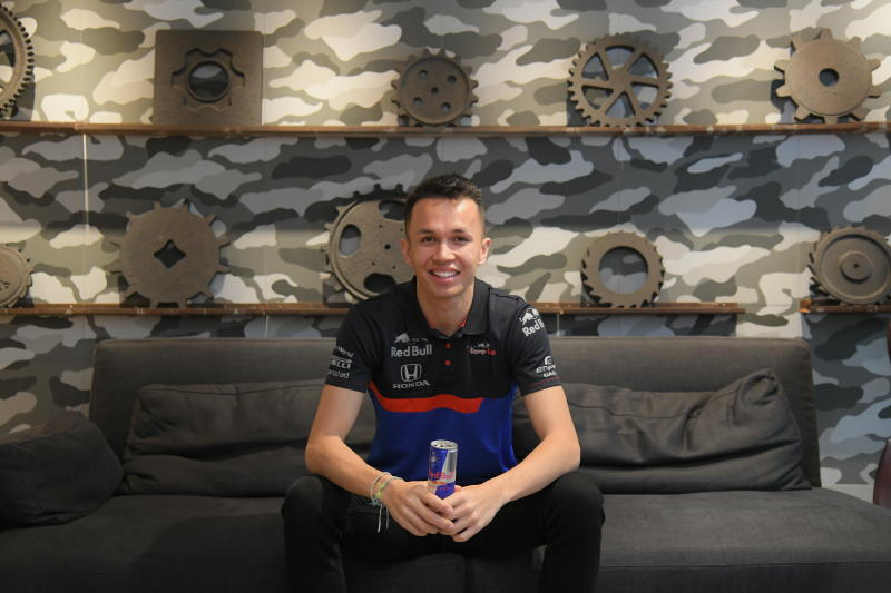 Formula One driver Alexander Albon is pictured in 2019. (Photo supplied)