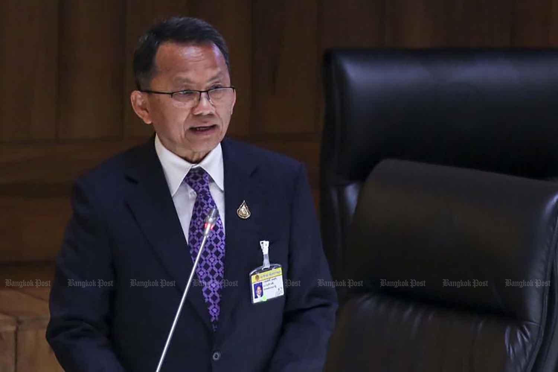 Justice Minister Somsak Thepsutin.