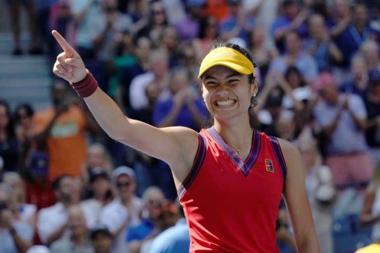 British 18-year-old sensation Emma Raducanu would become the first qualifier to reach a Grand Slam final with one more victory at the US Open.