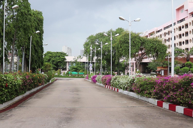 No tourists at this hotel in Pattaya, in Bang Lamung district of Chon Buri. (Photo: Chaiyot Pupattanapong)