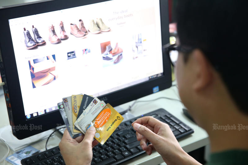 Online retail businesses have proliferated during the pandemic. (Bangkok Post file photo)