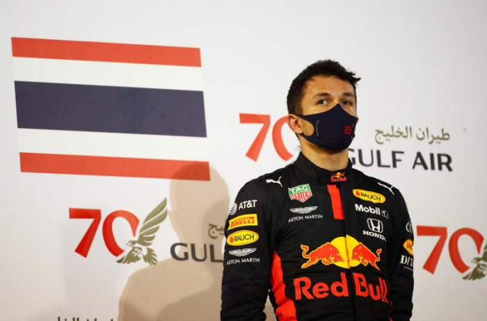 Williams are on the up, says Thai driver Albon