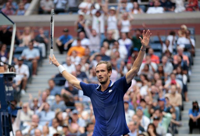 Russia's Daniil Medvedev beat Serbia's Novak Djokovic in Sunday's US Opoen men's singles final.