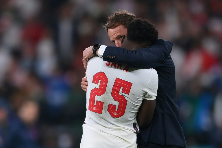 A leading figure at a consultancy that aims to use sport for social good says racist online abuse of stars like England footballer Bukayo Saka must be met with a stronger response by sports bodies.