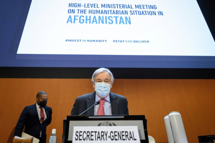 UN chief urges donors to give Afghans 'lifeline'