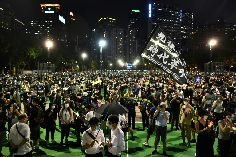 The Hong Kong Alliance had organised three decades of vigils commemorating the victims of Beijing's Tiananmen Square crackdown in 1989.