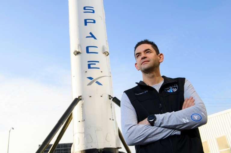 The Inspiration4 mission commander is Jared Isaacman, a billionaire who made his fortune on the Shift4 Payments platform.