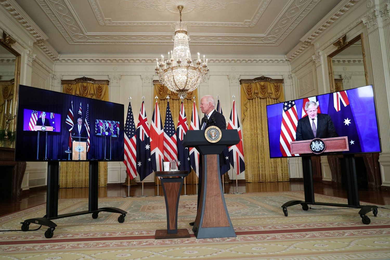 US, UK, Australia to form ties amid China rise