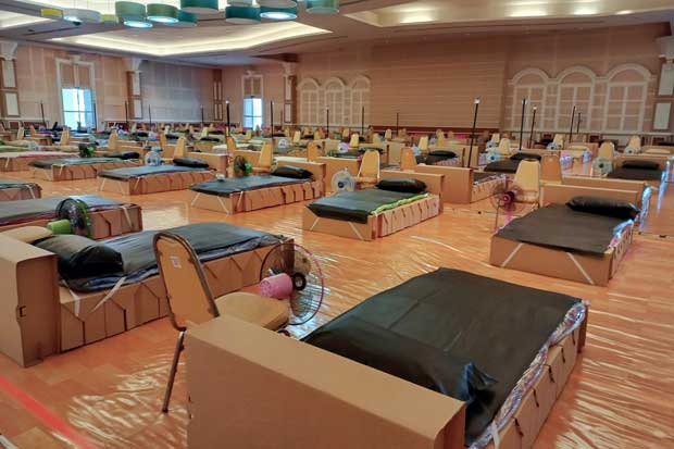 Bed shortage looms in Phuket as caseload surges