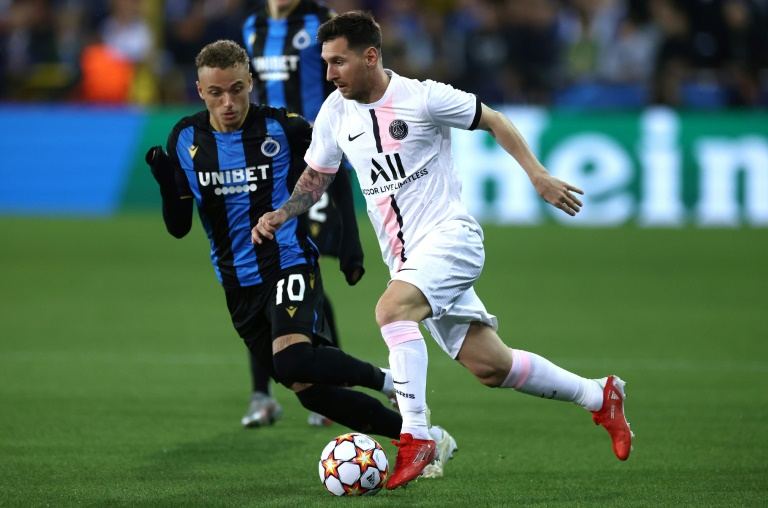 Lionel Messi and PSG were held in check by Club Brugge.