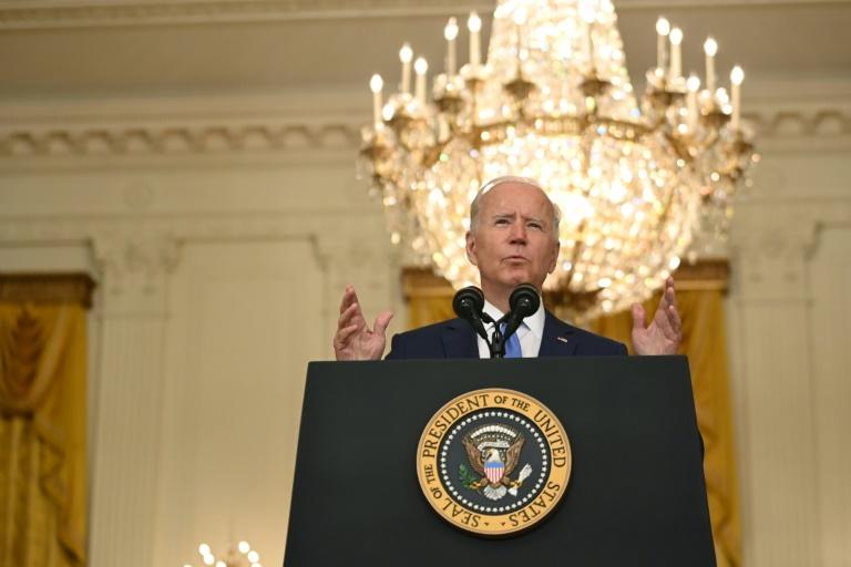 Biden says huge spending plan can redefine US 'trajectory'