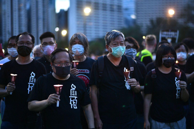 Hong Kong activists erase online content