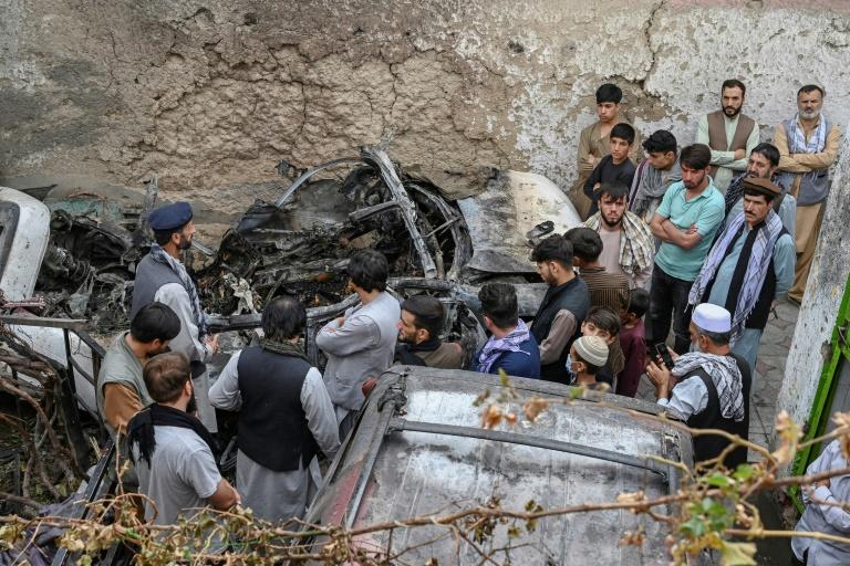 US admits strike in Kabul killed 10 civilians, not IS militants