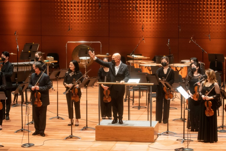 Friday's concert by the New York Philharmonic was a 'homecoming' for musicians limited to live streams, one-off and outdoor shows for more than a year