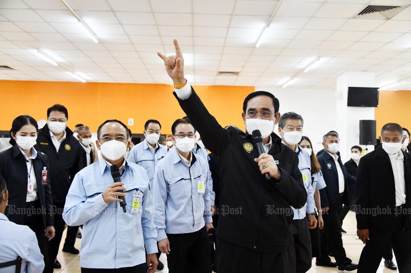 Majority not keen to see Prayut take over PPRP leadership: poll