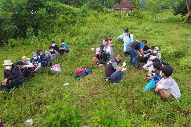 More illegal Myanmar border crossers arrested