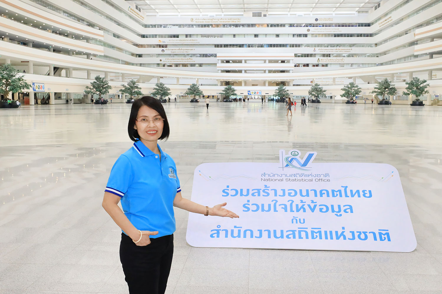 National Statistical Office of Thailand is maKing progress in collecting the 2022