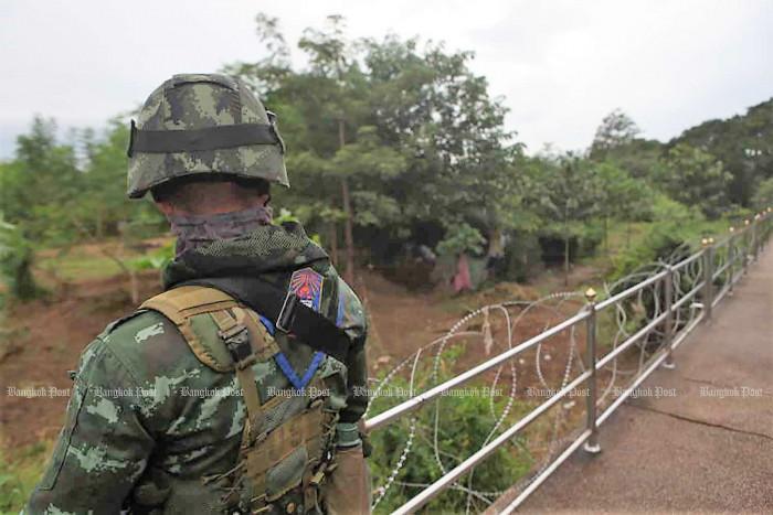 Myanmar border alert for gun smuggling