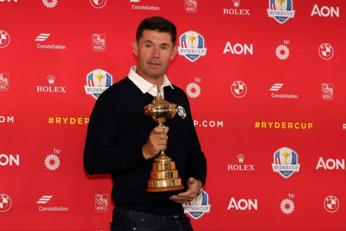Fewer Europe fans no worry for Harrington at Ryder Cup