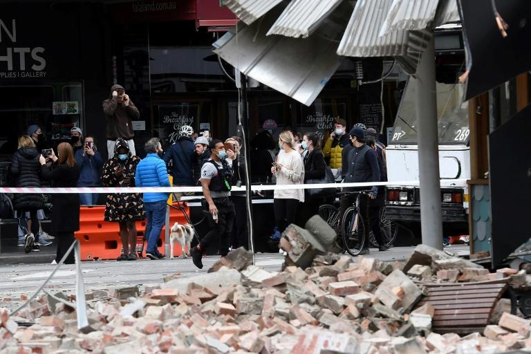 Rare earthquake triggers panic in Australia