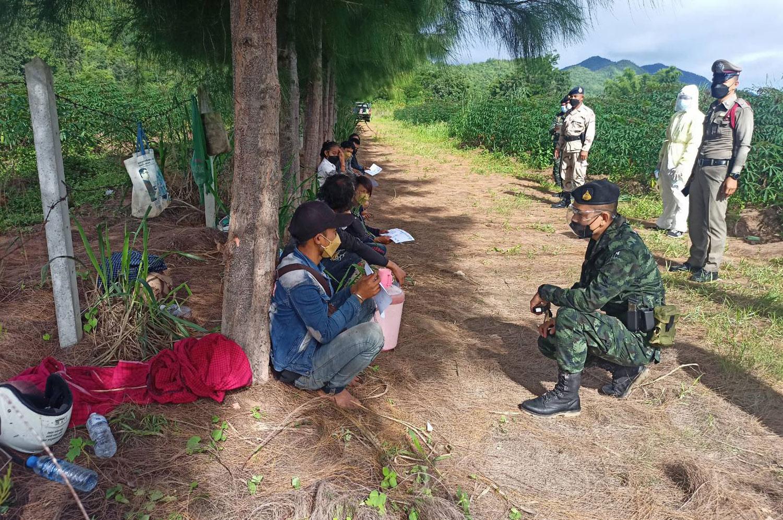 14 Myanmar migrants held in Kanchanaburi