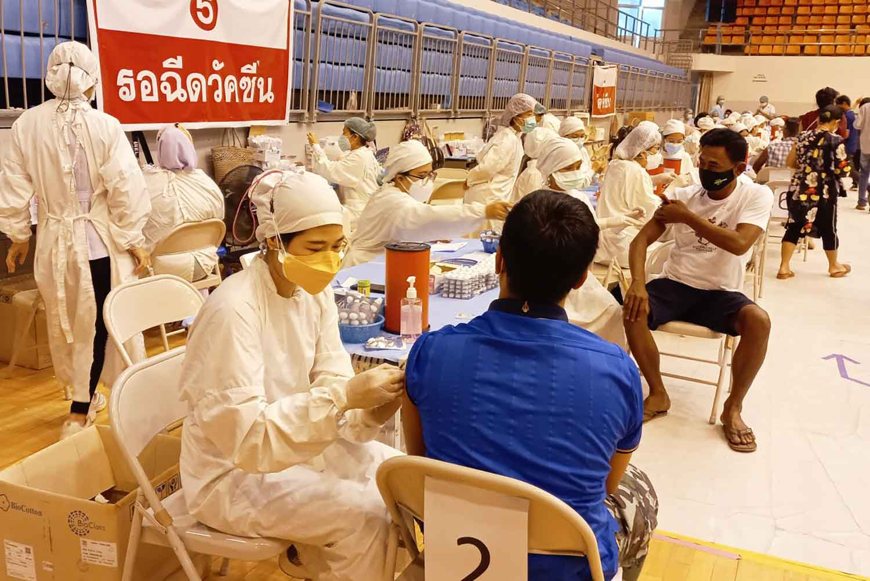 Intradermal Covid vaccination in Phuket
