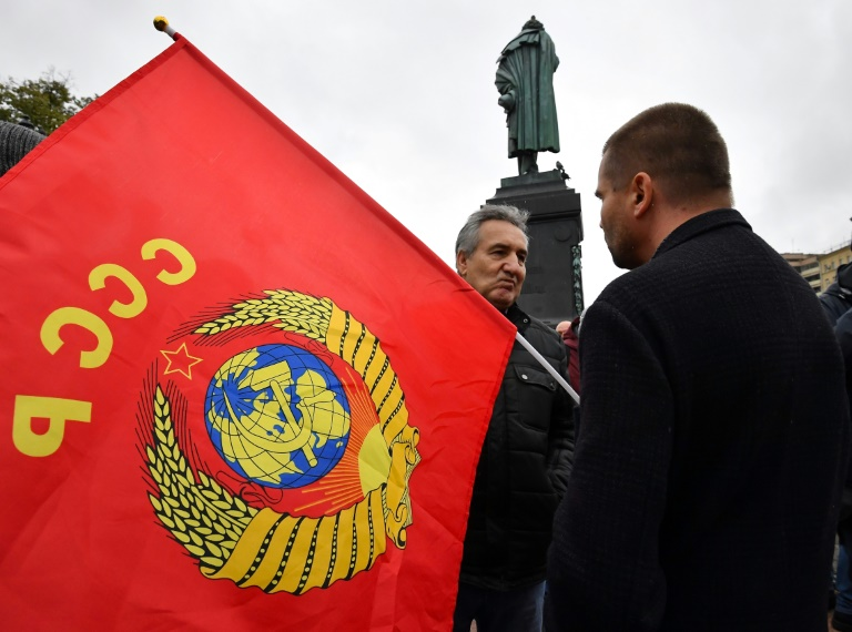 Many Russians in Moscow and elsewhere backed the Communists as a form of protest voting