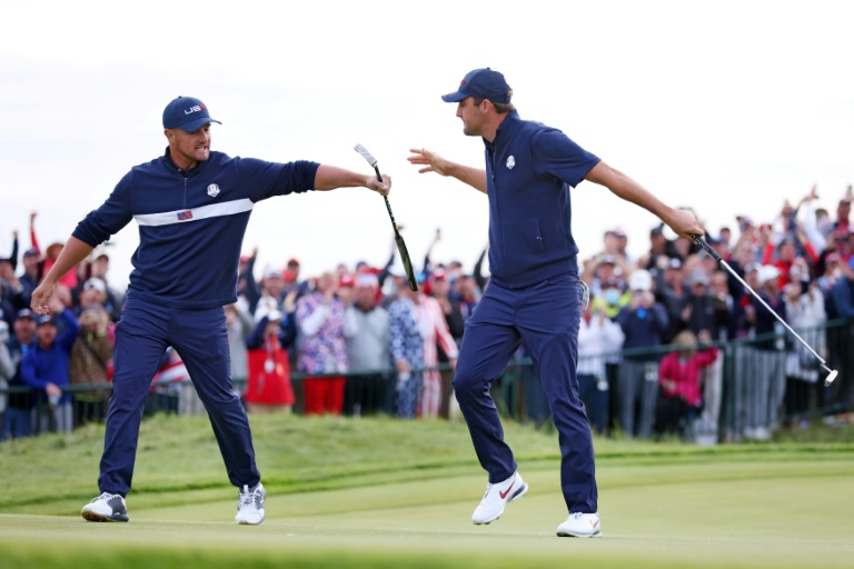 USA grabs 11-5 edge over Europe at Ryder Cup