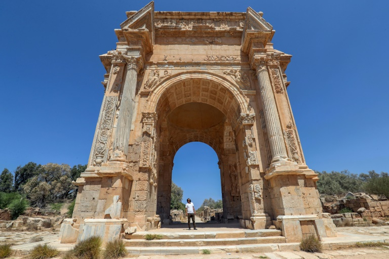 Jewel of Roman Empire lies neglected in Libya chaos