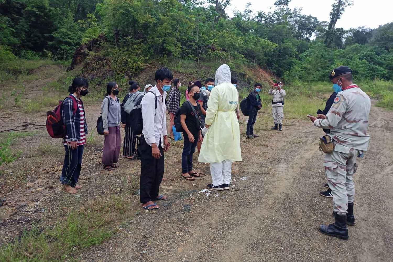 Myanmar migrants arrested for illegal entry