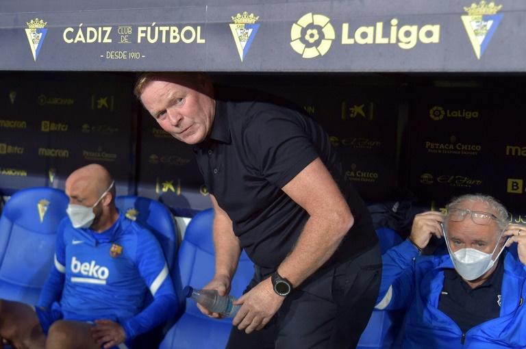 Koeman seeks extra time as Barca get set for Benfica