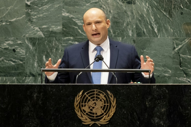 Israeli Prime Minister Naftali Bennett, addressing the 76th Session of the UN General Assembly, accused Iran of breaching