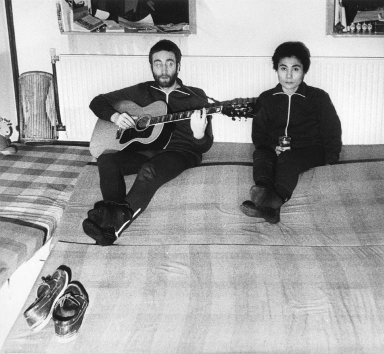 Unheard Lennon tape goes on sale in Denmark
