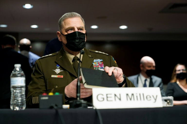 US generals say they recommended keeping 2,500 troops in Afghanistan