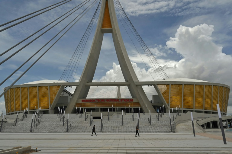 The Morodok Techo National Stadium in Phnom Penh was funded by grant aid under China's Belt and Road Initiative, which critics say has saddled poor nations with heavy debts