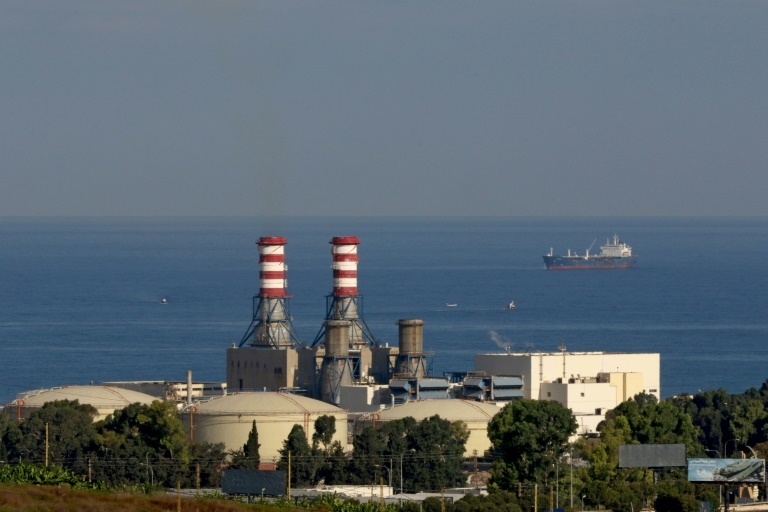 Lebanon's Zahrani power ran out of fuel plunging the country into yet another total blackout since the start of October
