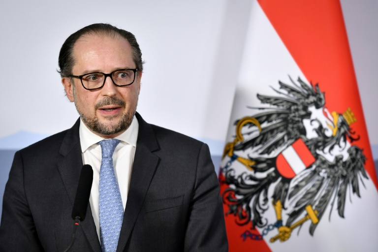 Alexander Schallenberg is expected to meet Austria's president Sunday to discuss taking over as chancellor