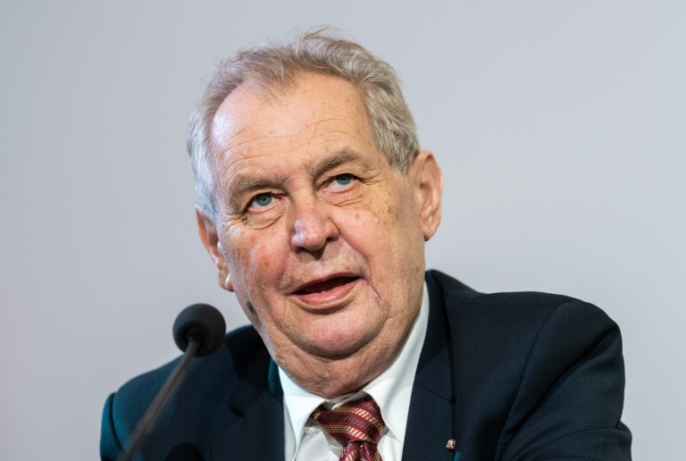 Doctors have declined to say exactly what is wrong with President Milos Zeman