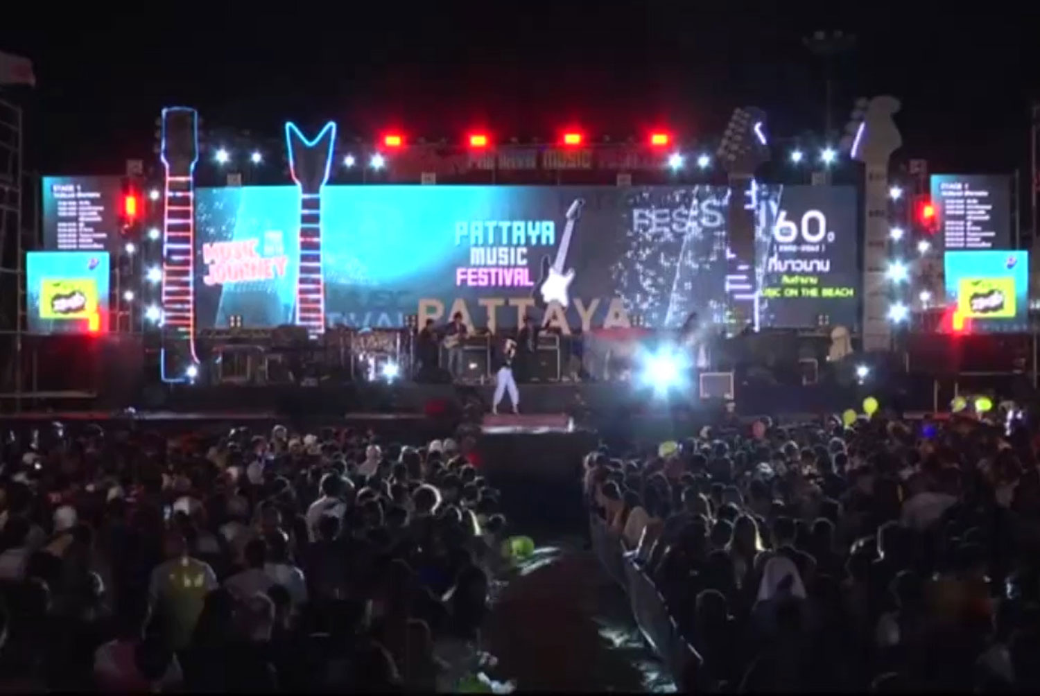 The Pattaya Music Festival is one of five major events that the Pattaya City Municipality will hold to boost tourism after the country reopens. (Photo: Chaiyot Pupattanapong)
