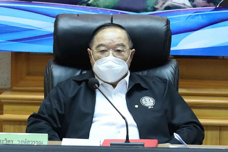 Ruling Palang Pracharath Party (PPRP) leader Prawit Wongsuwon (Government House photo)