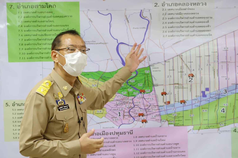 Narongsak Osottanakorn starts his roles as the governor of Pathum Thani on Oct 1. (Photo: Pongpat Wongyala)