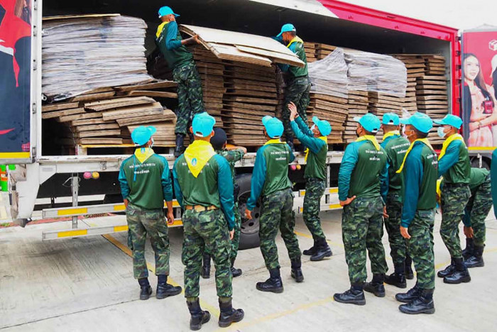 All 4,000 beds used in Pattani field hospitals