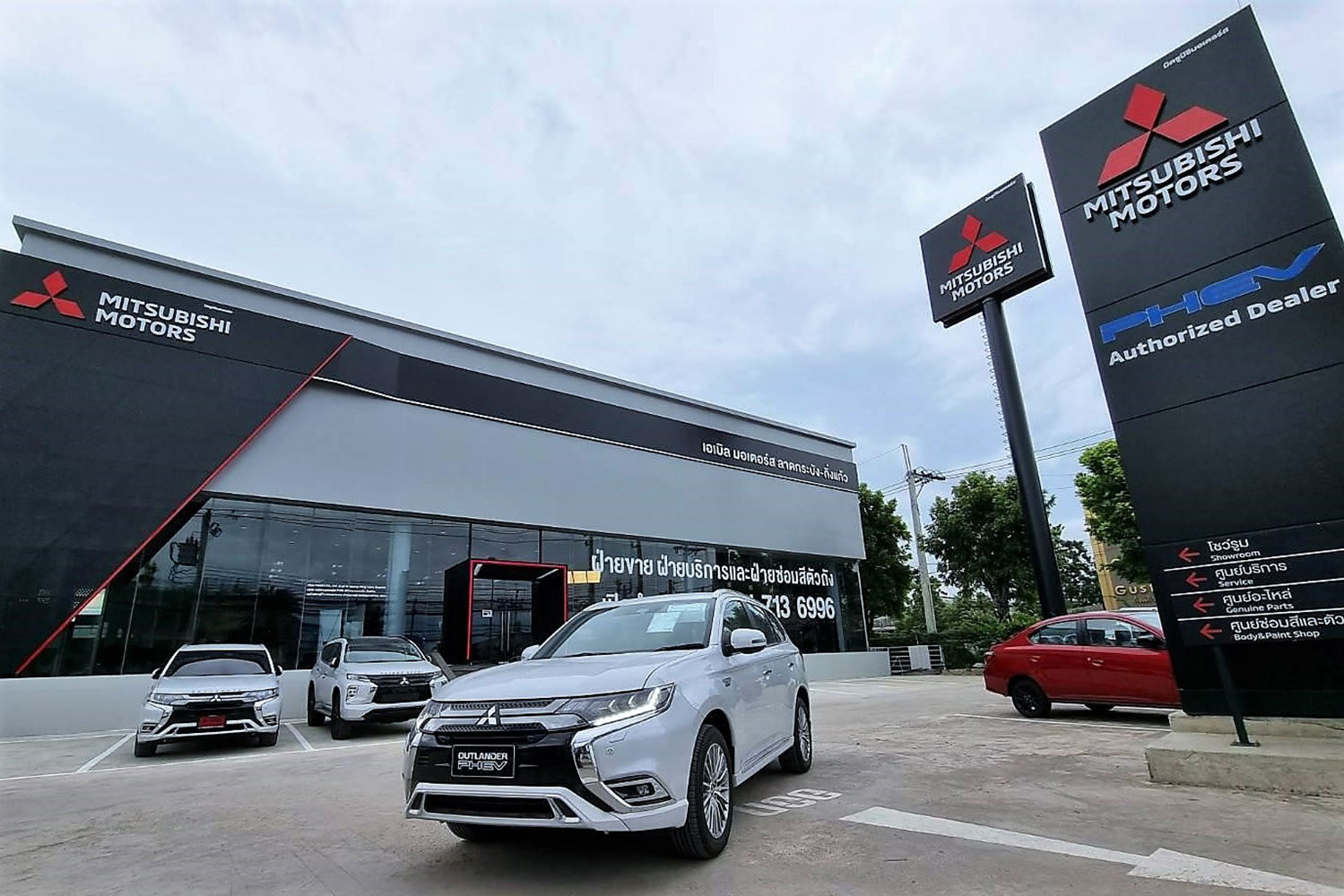 Mitsubishi Motors Thailand opens new outlet