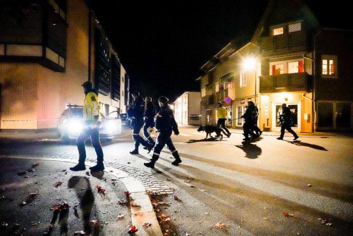 Man with bow and arrows kills five people in Norway