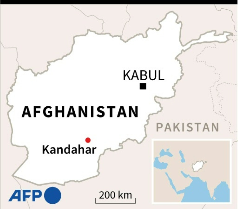 Deadly blasts hit Shiite mosque in Afghanistan's Kandahar