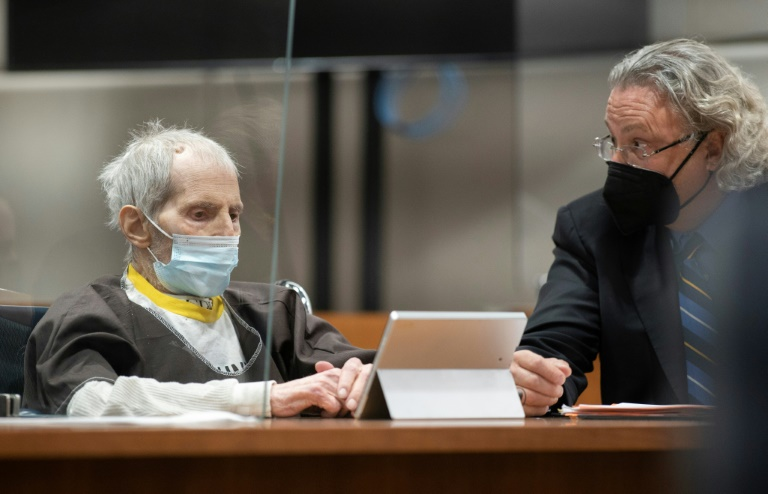 US tycoon Durst, sentenced to life in prison, is on ventilator with Covid: lawyer