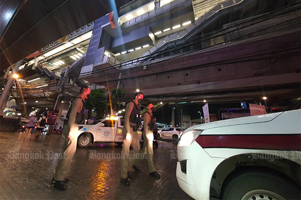 Student falls to death from BTS station